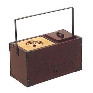 手提香炉(桜・オトシ蓋付) 8寸