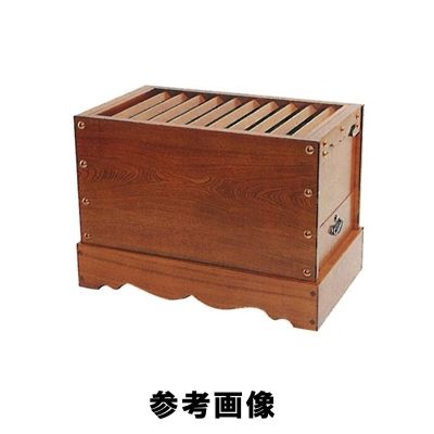 箱型賽銭箱 [栓] 2.5尺 (浄財・罫銭等文字入れは別途請求)