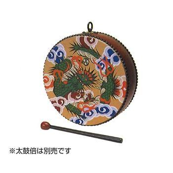 せん法太鼓(極彩色・欅調) 1.1尺