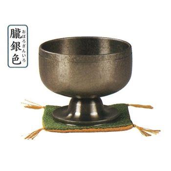 高台リン遊亀[朧銀色] 3.0寸