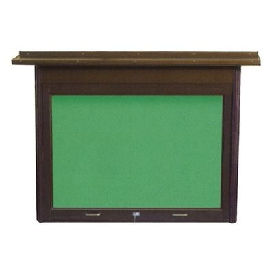 壁掛けアルミ製掲示板 4尺