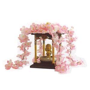 花御堂用かざり 桜屋根かざり