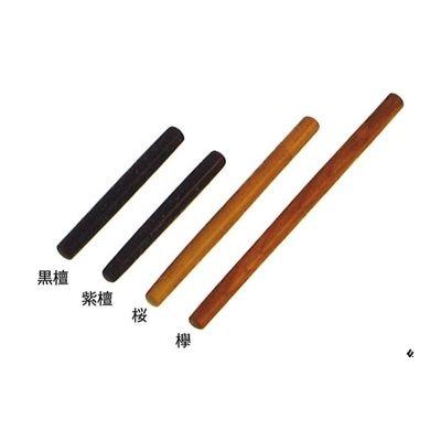 線香筒 受注生産品 黒檀 保障 紫檀 1.2尺 ネジ式