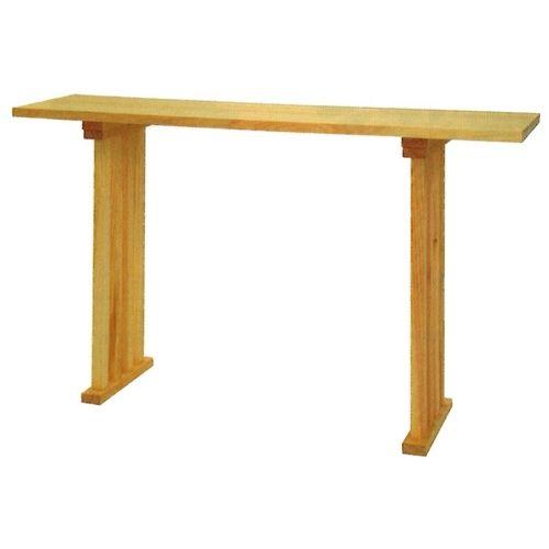 八足テーブル ヒノキ製・6尺
