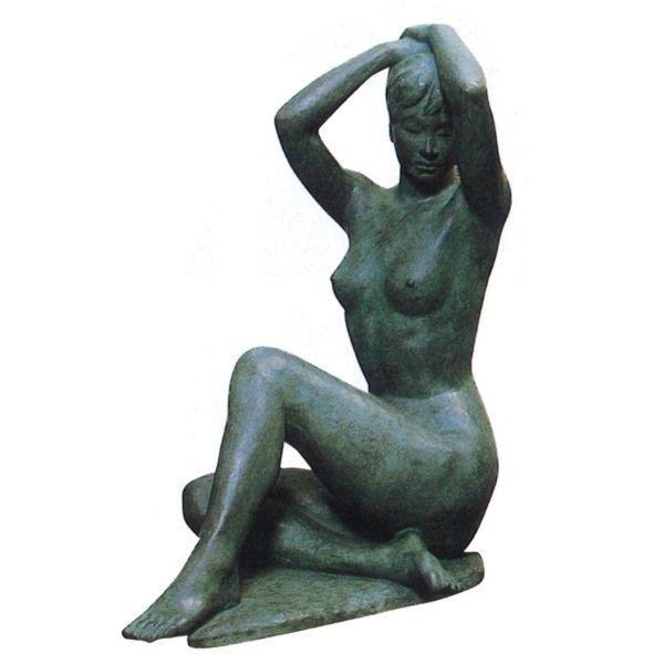 ブロンズ像 裸婦像 みのり