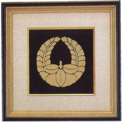 パネル 家紋額 [ 銅製 ] (10号)