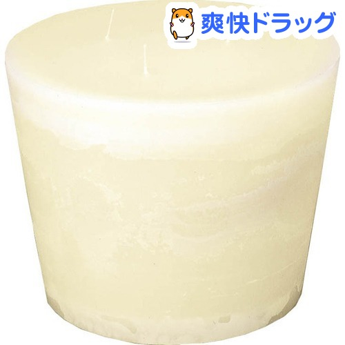 カメヤマ グランディオラウンドS アイボリー(1コ入)【カメヤマキャンドル】