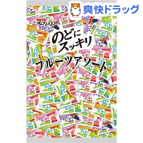 春日井製菓 割引も実施中 のどにスッキリ 1kg フルーツアソート 定番キャンバス