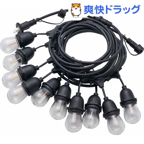 LEDストリング バルブライト10P ゴールド(1セット)