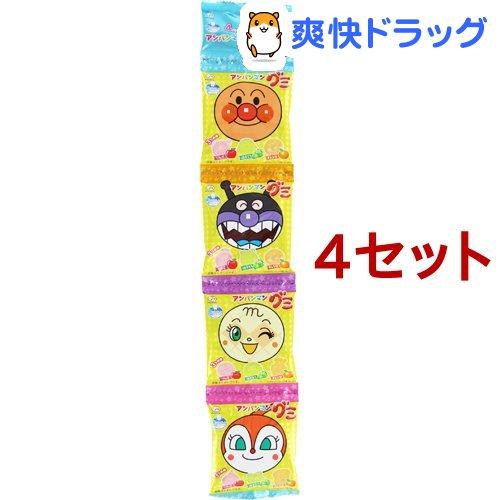 アンパンマン グミ 4連(84g*4セット)【不二家 アンパンマン】