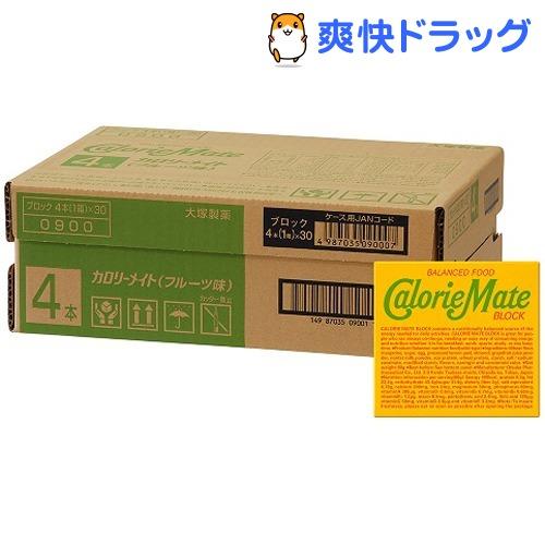 カロリーメイト ブロックタイプ フルーツ味(4本入*30コセット)【カロリーメイト】