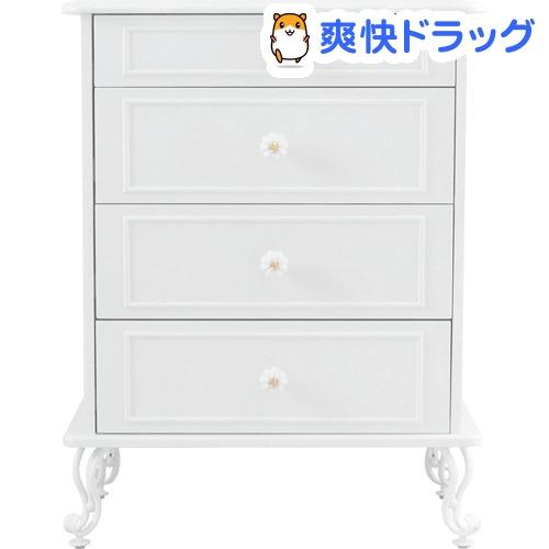 リルデココ パール 4段チェスト(1台)【送料無料】