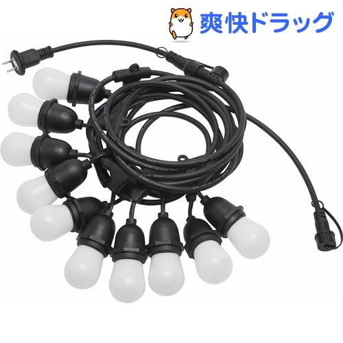 LEDストリング バルブライト10P ホワイト(1セット)