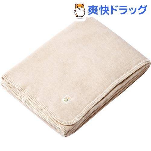 メイドインアース 綿毛布(シングル) 茶 140*200cm(1枚入)【メイドインアース】
