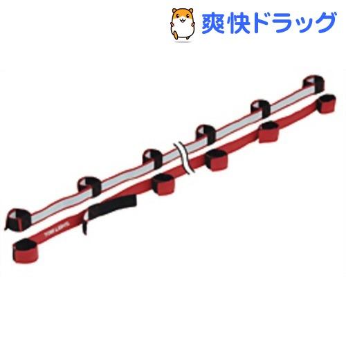 トーエイライト むかでロープ DX10(赤) 10人用(2本1組) B-3793R(1組入)【トーエイライト】【送料無料】