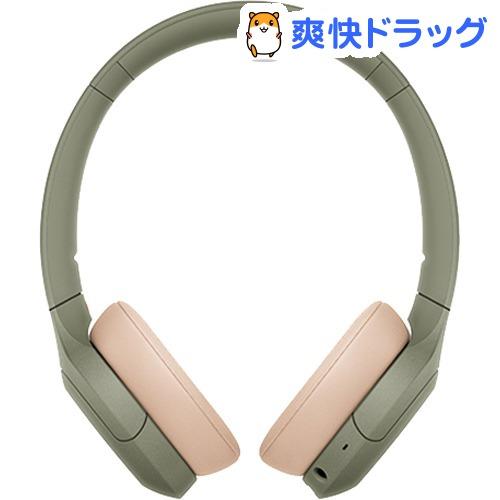 ソニー ワイヤレスステレオヘッドセット WH-H810 GM アッシュグリーン(1台)【SONY(ソニー)】