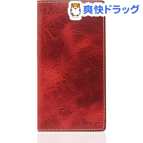 SLGデザイン iPhone7 バダラッシーワックスケース レッド SD8104i7(1コ入)【SLG Design(エスエルジーデザイン)】