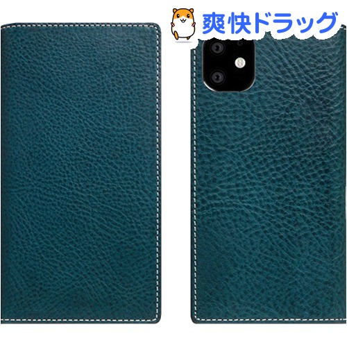 SLG Design iPhone 11 Minerva Box Leather Case ブルー SD17906i61R(1個)【SLG Design(エスエルジーデザイン)】