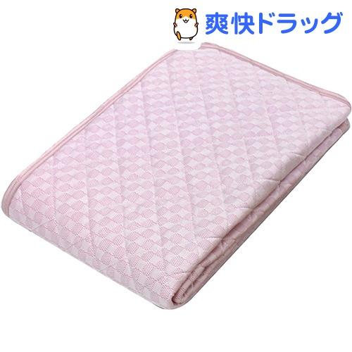 京都西川 ひんやり 敷パッド シングル ピンク 5I-SS077 S(1枚)【京都西川】