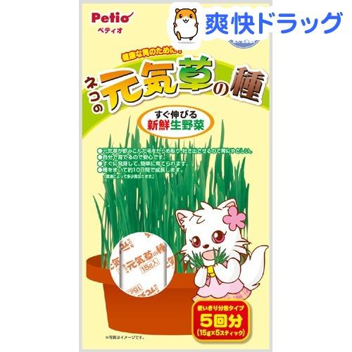 ペティオ(Petio) / ペティオ ネコの元気草の種 ペティオ ネコの元気草の種(15g*5包入)【ペティオ(Petio)】