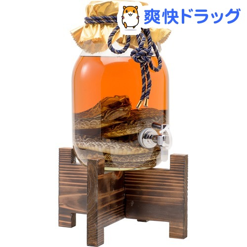 南都 蛇口付夫婦ハブ入りハブ酒(3000ml)