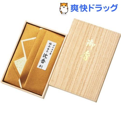 ボルネオ産 極品 香木 沈香 刻(30g)【日本香堂】