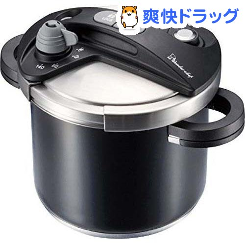 ワンダーシェフ オースプラス 両手圧力鍋 5L ブラック(1コ入)【ワンダーシェフ】
