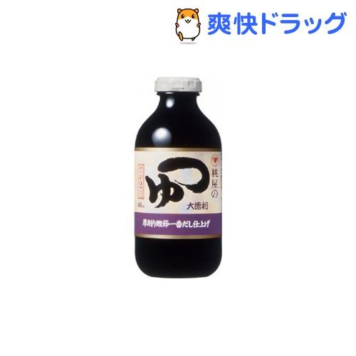 桃屋 つゆ 大徳利(400ml)