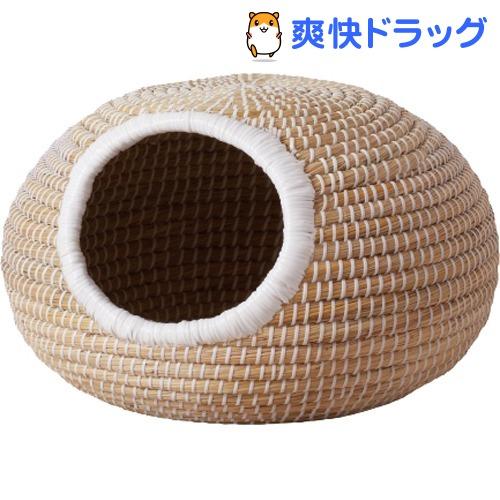キャティーマン 美品 日本製 にゃんこのちぐらシリーズ 1個 ま~るいつぼ