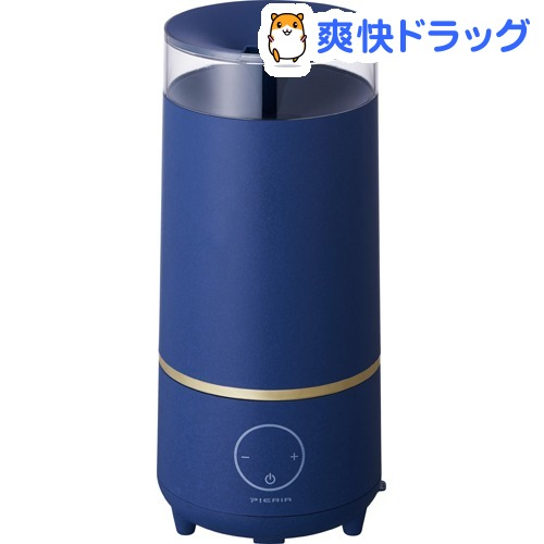 PIERIA 超音波式加湿器 ベイパー ネイビー(1台)【ピエリア(Pieria)】