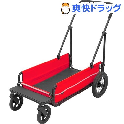 エアバギーフォードッグAD CARRIAGE ベリーレッド(1台)【AIRBUGGY FOR PET】