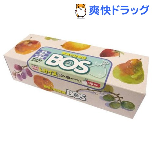 防臭袋BOS 驚異の防臭袋 BOS Lサイズ 価格交渉OK送料無料 ボス 《週末限定タイムセール》 90枚入