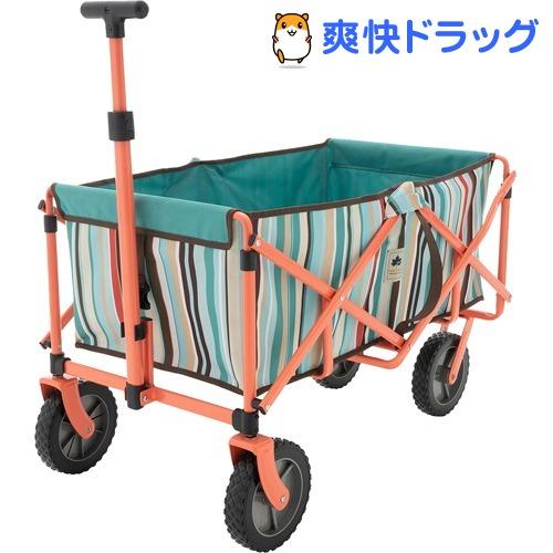 neos ラゲージキャリー ブルーストライプ(1台)【ロゴス(LOGOS)】
