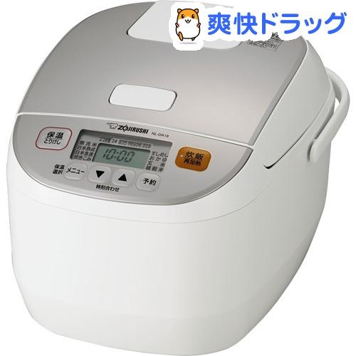 象印 マイコン炊飯ジャー ホワイト NL-DA18-WA(1台)【象印(ZOJIRUSHI)】
