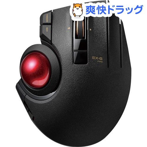 トラックボール EX-G PRO 親指操作タイプ ブラック M-XPT1MRXBK(1個)【エレコム(ELECOM)】