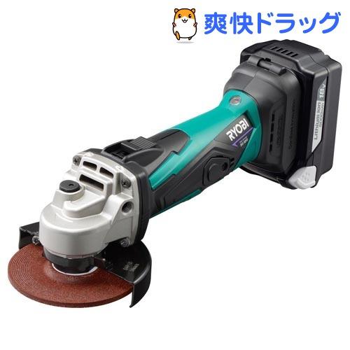 リョービ 充電式ディスクグラインダ BG-1810L5(1台)【リョービ(RYOBI)】