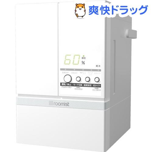 roomist スチームファン蒸発式加湿器 ピュアホワイト SHE60SD-W(1台)