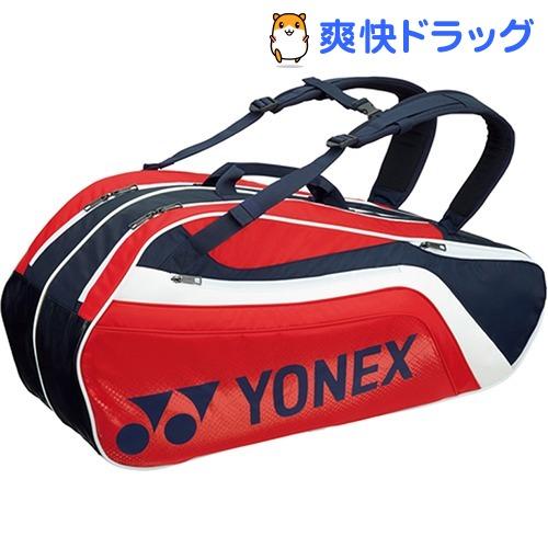 ヨネックス ラケットバック6 リュック付 テニス6本用 ネイビー*レッド BAG1812R 097(1コ入)【ヨネックス】