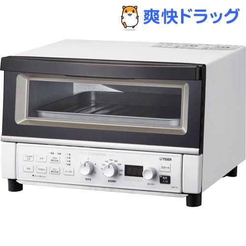 タイガー(TIGER) / タイガー コンベクションオーブン&トースター やきたて マットホワイト KAT-A130 WM タイガー コンベクションオーブン&トースター やきたて マットホワイト KAT-A130 WM(1台)【タイガー(TIGER)】