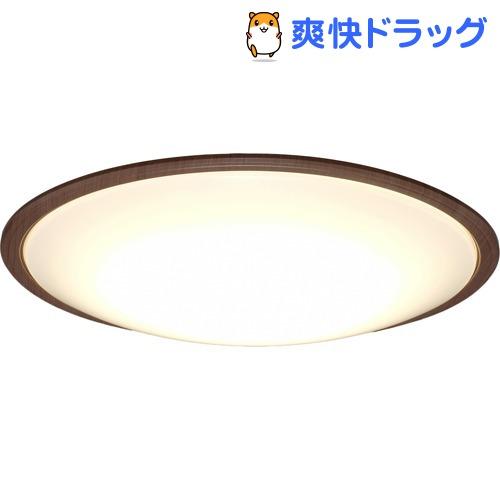 アイリスオーヤマ LEDシーリングライト ウッドフレーム 14畳調色 ウォールナット(1台)【アイリスオーヤマ】