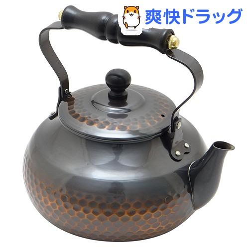 赤銅仕上木柄湯沸し(1コ入)