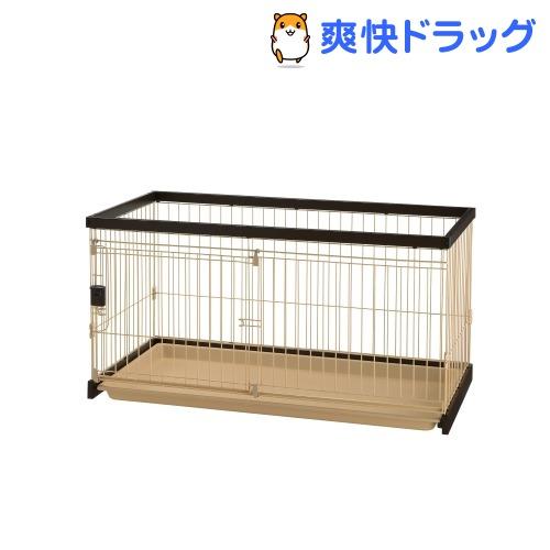 リッチェル ペット用 木製お掃除簡単サークル 120-60(1台)