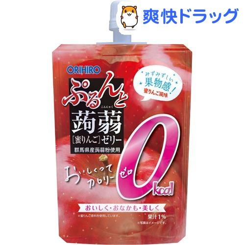 ぷるんと蒟蒻ゼリー スタンディング カロリーゼロ 130g 商い 8個 蜜りんご 人気ブランド多数対象