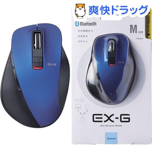 エレコム ELECOM ワイヤレスマウス 無線 Bluetooth 新作 大人気 ブルーLED スピード対応 全国送料無料 Mサイズ 5ボタン M-XGM10BBBU 1個