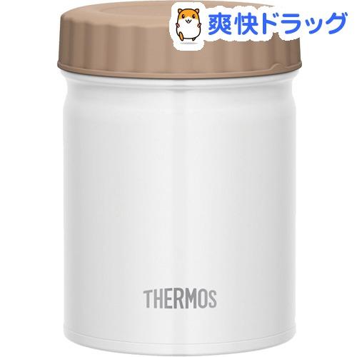 500ml サーモス THERMOS 真空断熱スープジャー ☆国内最安値に挑戦☆ 0.5L デポー WH ホワイト 1個 JBT-500