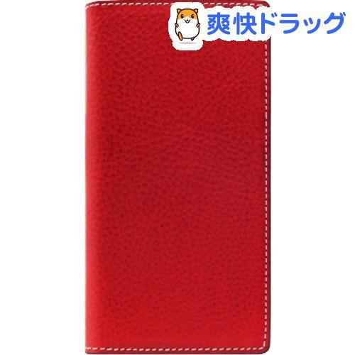 エスエルジーデザイン iPhone X ミネルバボックスレザーケース レッド SD10514i8(1コ入)【SLG Design(エスエルジーデザイン)】