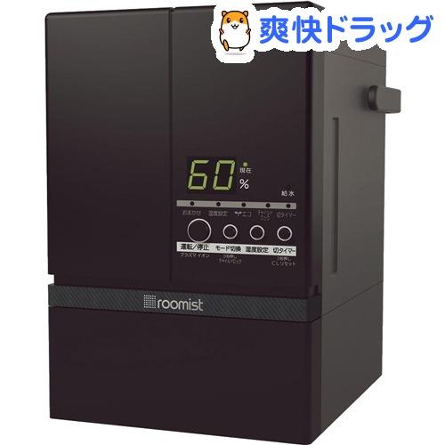 roomist スチームファン蒸発式加湿器 ブラック SHE60SD-K(1台)