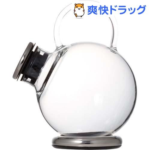 iwaki SNOWTOP ティーシリーズ ティーポット 500ml (プラチナ) 805T-SV(1コ入)