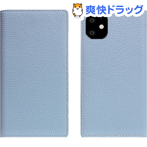SLG Design iPhone 11 Full Grain Leather Case パウダーブルー SD17916i61R(1個)【SLG Design(エスエルジーデザイン)】