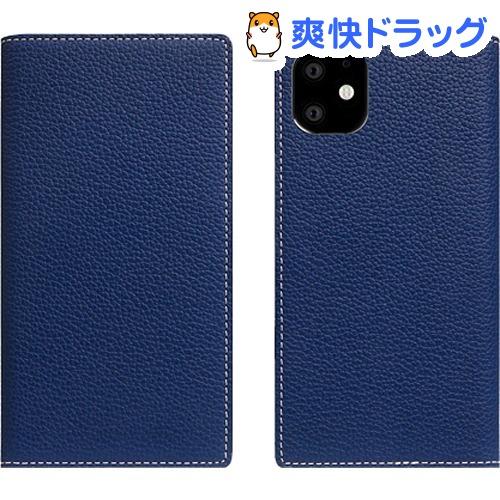 SLG Design iPhone 11 Full Grain Leather Case ネイビー ブルー SD17917i61R(1個)【SLG Design(エスエルジーデザイン)】